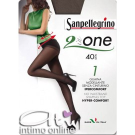 Collant con Guaina Sanpellegrino 2 IN ONE 40 5PZ