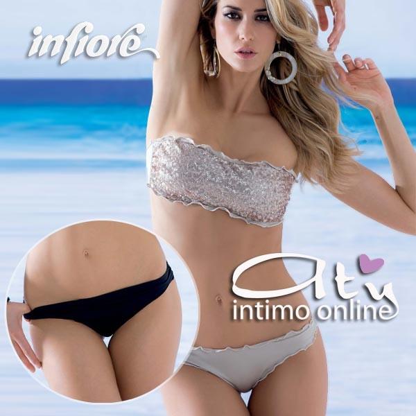 costume da bagno donna bikini a fascia infiore casablancamarakech