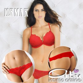 Completino Intimo Lormar MYDOUBLE/MYCLASS ROSSO