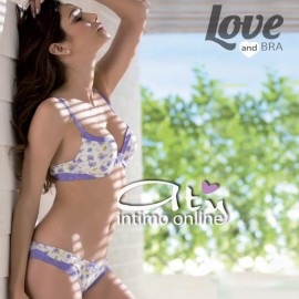 Completino Intimo LOVE AND BRA 8196
