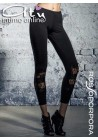 Leggings Luxury RossoPorpora LE132