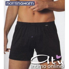 BOXER CON BOTTONE ASSORTITO NOTTINGHAM B416 Conf. 6 pz