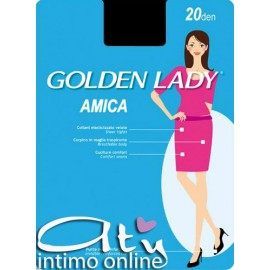 Collant donna AMICA20 Golden Lady 10 PAIA