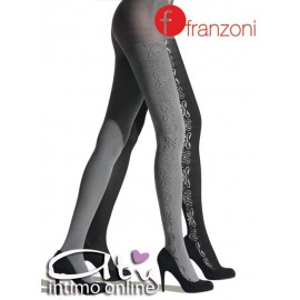 COLLANT MODA DOUBLE FACE FRANZONI DAMASCATA
