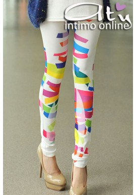 LEGGINGS STRISCE MULTICOLOR 79300
