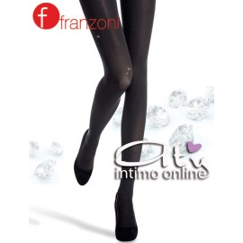 Collant donna Stampa diamantata Splendente Franzoni