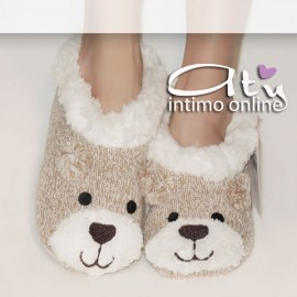 Pantofola musetto orso Smile HY6051