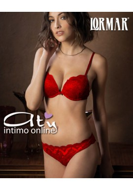 Completino Intimo Rosso Super Push Lormar Vast Eternal