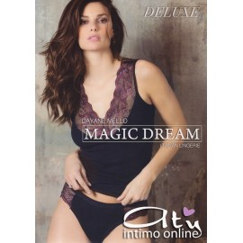 Completino Blu Magic Dream con pizzo bi-color 7390