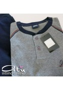 Pigiama uomo caldo interlock Enrico Coveri Golf Team EP6069