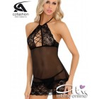 Babydoll con sexy scollo e perizoma micro hot Mochana Cofashion